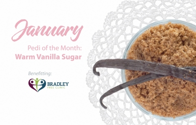 Pedi of the Month January 2017