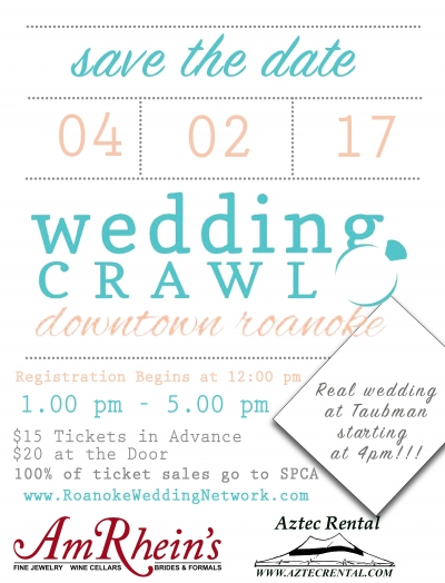 Roanoke Wedding Crawl