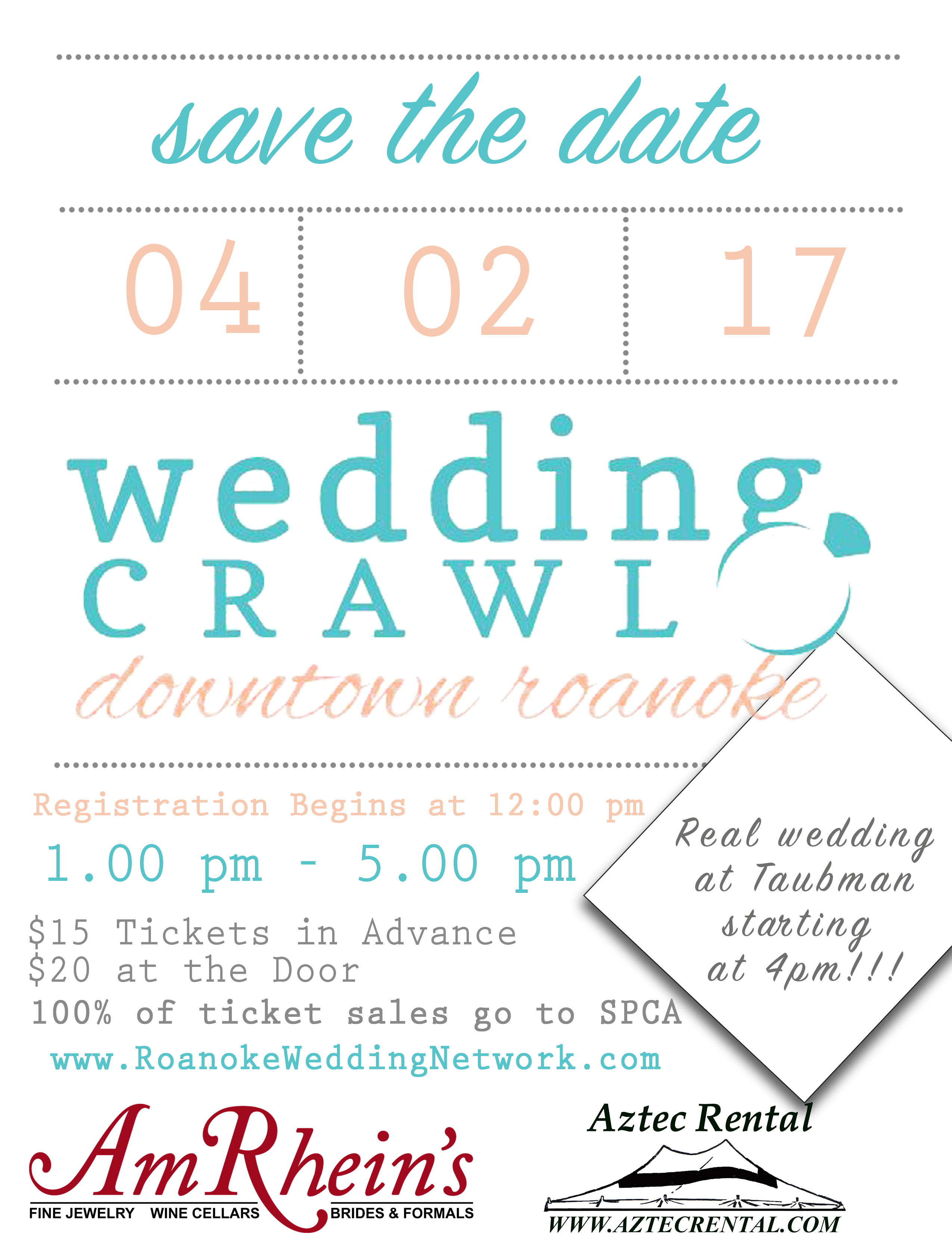 Roanoke Wedding Crawl