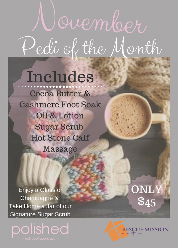 October's Pedi of the Month