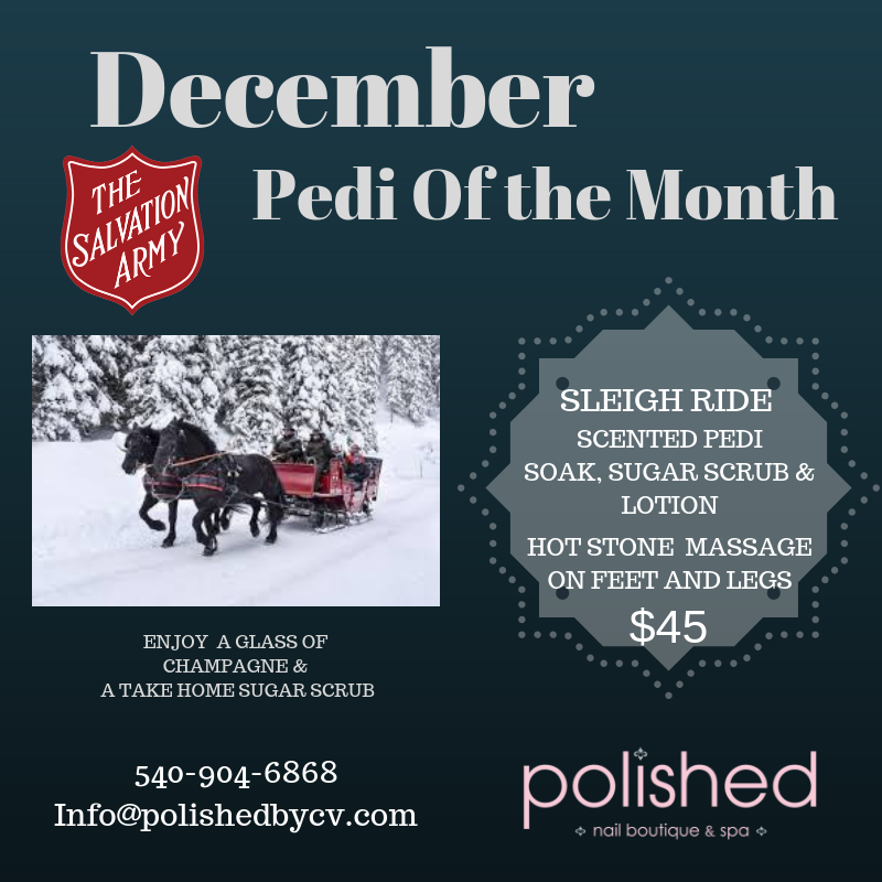 December's Pedi of the Month