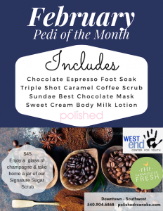 February's Pedi of the Month