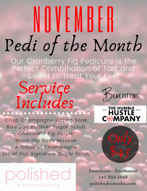 November's Pedi of the Month